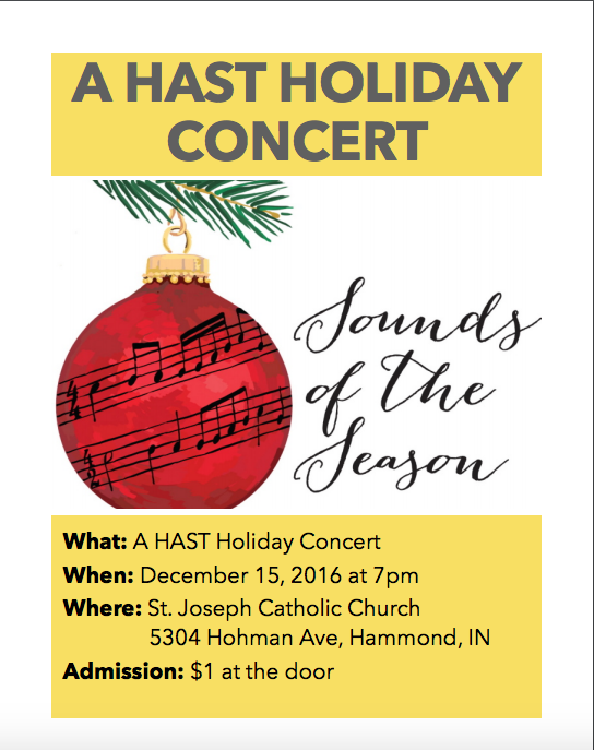 HAST Holiday Concert